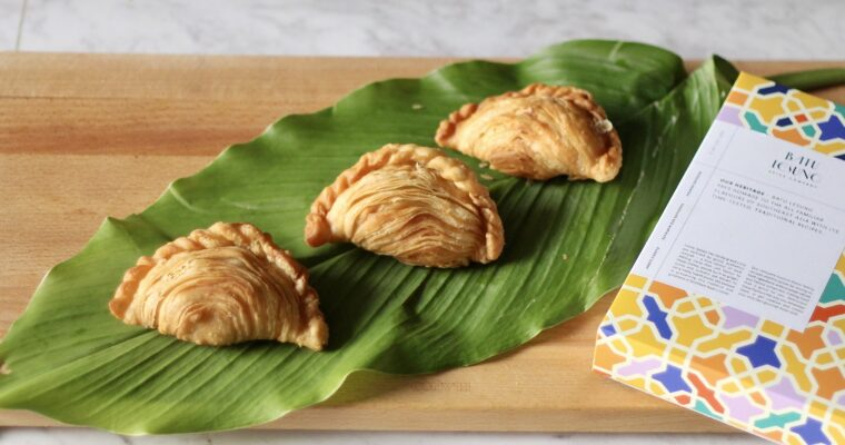 Spiral Rendang Curry Puff